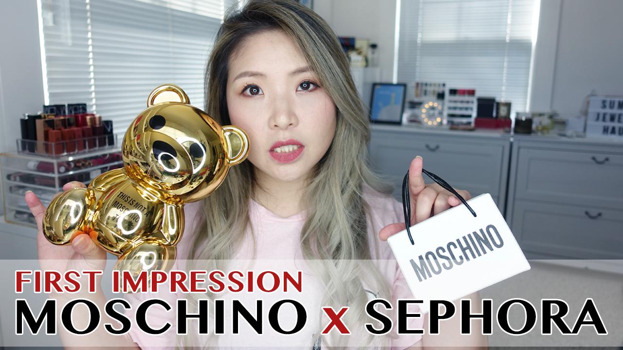 影音 | 熊出沒!開箱+第一印象 Moschino x Sephora Unboxing & Swatches